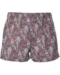 Liberty - Elegance Tana Lawn Cotton Boxer Shorts - Lyst