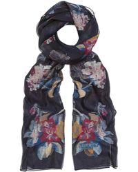 Liberty - Rosalie Fil Coupé 58 X 180cm Silk Scarf - Lyst