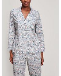 Liberty - Imran Tana Lawn Cotton Long Pyjama Set - Lyst