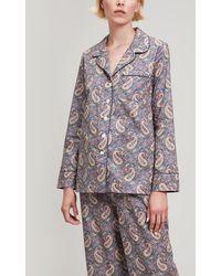Liberty - Lee Manor Tana Lawn Cotton Long Pyjama Set - Lyst