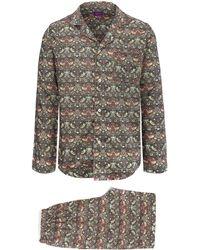 Lyst - Liberty Multicolour Tessa Cotton Long Pyjama Set for Men d184194b0