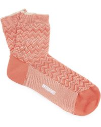 Missoni - Zig-zag Socks - Lyst