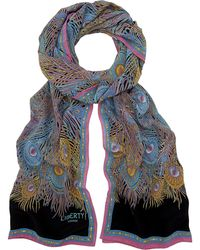 Liberty - Hera Long Silk Scarf - Lyst