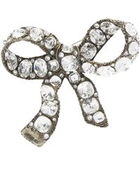 Gucci - Large Bow Brooch - Lyst