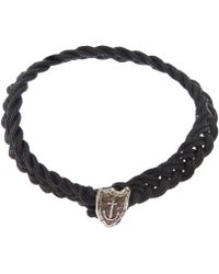 Pyrrha - Unshakeable Anchor Bracelet - Lyst