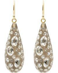 Alexis Bittar - Diamond Dust Dewdrop Lucite Crystal Earrings - Lyst