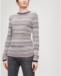 M.i.h Jeans - Moonie Stripe Sweater - Lyst