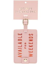 Ban.do - Available For Weekends Luggage Tag - Lyst