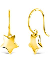 Dinny Hall   Gold Vermeil Talitha Statement Earrings   Lyst