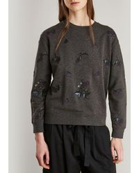 Barbour - Evelyn Embroidered Sweater - Lyst