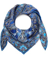 Liberty - New Ianthe 70x70 Silk Scarf - Lyst