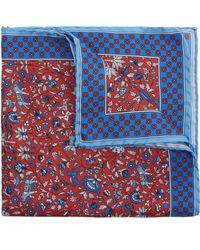Liberty - Liberty Print Imran Silk Pocket Square - Lyst