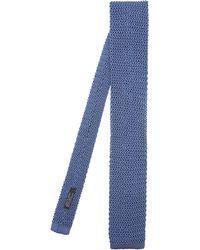Nick Bronson - Plain Knit Silk Tie - Lyst