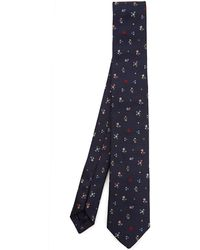 Paul Smith - Ditsy Floral Silk Tie - Lyst