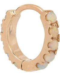 "Maria Tash - 1/4"" Natural Opal Eternity Earring - Lyst"