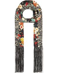 Lily and Lionel - Wildflower Skinny Scarf - Lyst