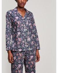Liberty - Delilah Tana Lawn Cotton Long Pyjama Set - Lyst
