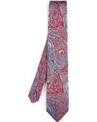 Liberty - Felix Raisen Woven Silk Tie - Lyst