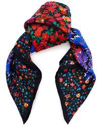 Liberty - Floral Medley 45x45 Silk Neckerchief - Lyst