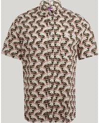 Liberty - Palm Tree Men's Linen Shirt - Lyst