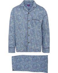 Liberty - Oscar Tana Lawn Cotton Long Pyjama Set - Lyst