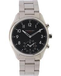 Kronaby - Apex Stainless Steel Metal Strap Watch - Lyst