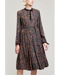 A.P.C. - Nola Paisley Dress - Lyst