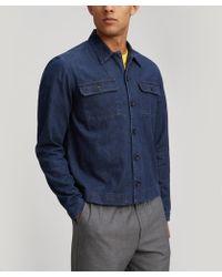 Albam - Woven Press Cotton Shirt - Lyst