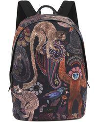 Paul Smith - Monkey Print Backpack - Lyst