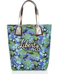 Liberty - Richard Quinn Hydra Merton Tote Bag - Lyst