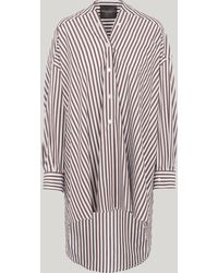 Erika Cavallini Semi Couture - Oversized Stripe Shirt - Lyst