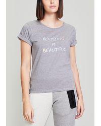 Fyodor Golan - Recycling Is Beautiful Logo T-shirt - Lyst