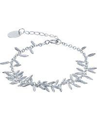 Alex Monroe - Silver Fennel Kissing Seed Bracelet - Lyst