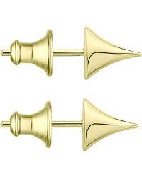 Shaun Leane - Large Gold Vermeil Rose Thorn Studs - Lyst