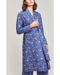 Liberty - Garden Gates Long Cotton Robe - Lyst
