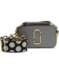 00ae6a675fe Marc Jacobs - Snapshot Small Cross-body Camera Bag - Lyst