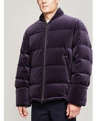Wooyoungmi - Velvet Quilted Jacket - Lyst