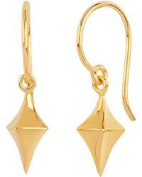 Dinny Hall - Gold Vermeil Medium Almaz Drop Earrings - Lyst