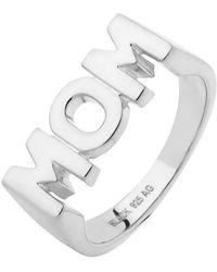 Maria Black - Silver Mom Ring - Lyst