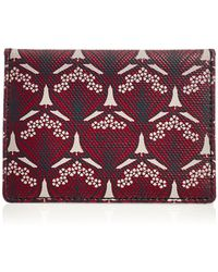 Liberty - Travel Card Holder in Iphis Canvas - Lyst