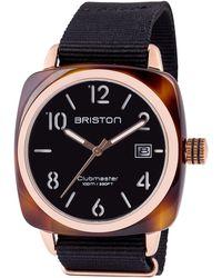 Briston - Acetate Clubmaster Hms Sunray Dial Watch - Lyst