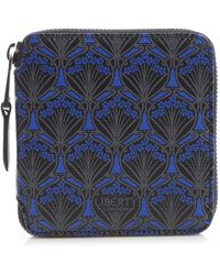 Liberty | Small Wallet In Iphis Canvas | Lyst