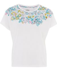 Uniqlo - Claire Tepper Printed T-shirt - Lyst