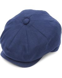 Christys' - 8 Piece Linen Baker Boy Hat - Lyst