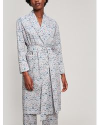 Liberty - Imran Tana Lawn Cotton Long Robe - Lyst