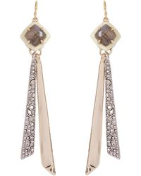 Alexis Bittar - Crystal And Quartz Tassel Earrings - Lyst