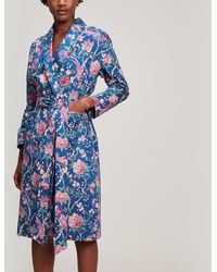 Liberty - Elysian Paradise Tana Lawn Cotton Long Robe - Lyst