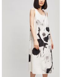 Crea Concept - Paint Detail Dress - Lyst
