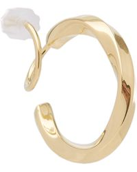 Maria Black - Gold-plated Marcelle Twirl Earring Right - Lyst