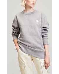 Acne Studios - Fairview Face Crew-neck Sweat - Lyst